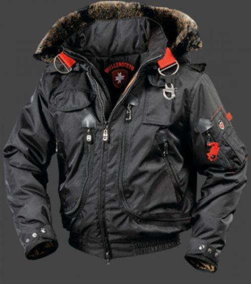 Wellensteyn Rescue Jacket, RainbowAirTec, Schwarz | Mens
