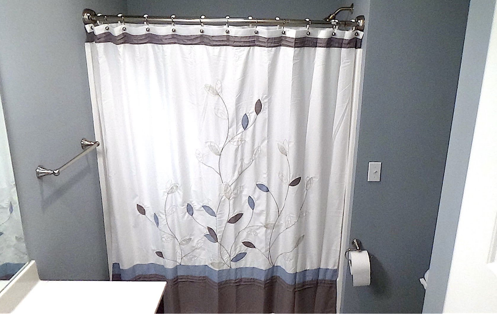 Curved Shower Curtain Rod Height Best Ideas
