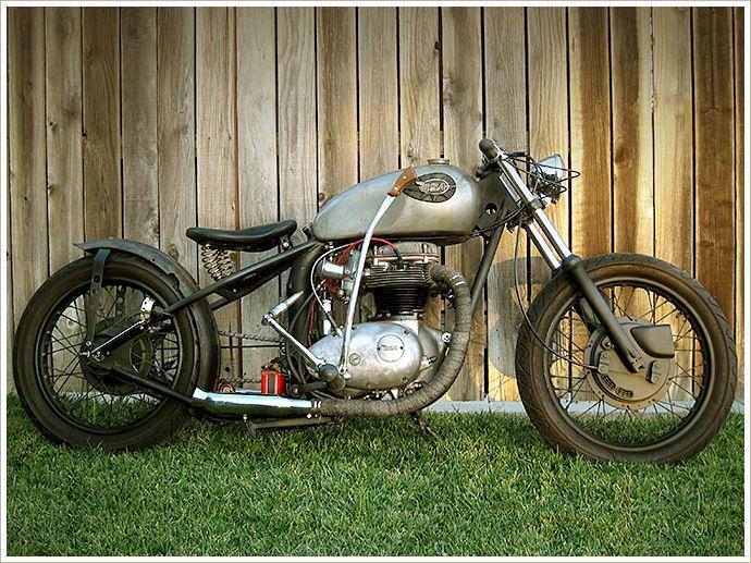 1972 Bsa A65 Lightning Bobber Pipeburn Com Bobber Classic Motorcycles Bobber Motorcycle