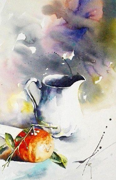 Le pichet wet and splashy watercolor pinterest plus for Pinterest aquarell
