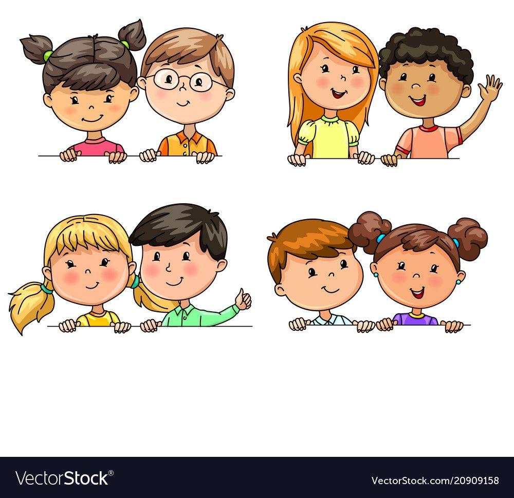 b97d2218eab Αστεία Παιδιά, Clip Art, Σχολείο, Παιδιά, Illustration, Adobe Illustrator,  Σκίτσα