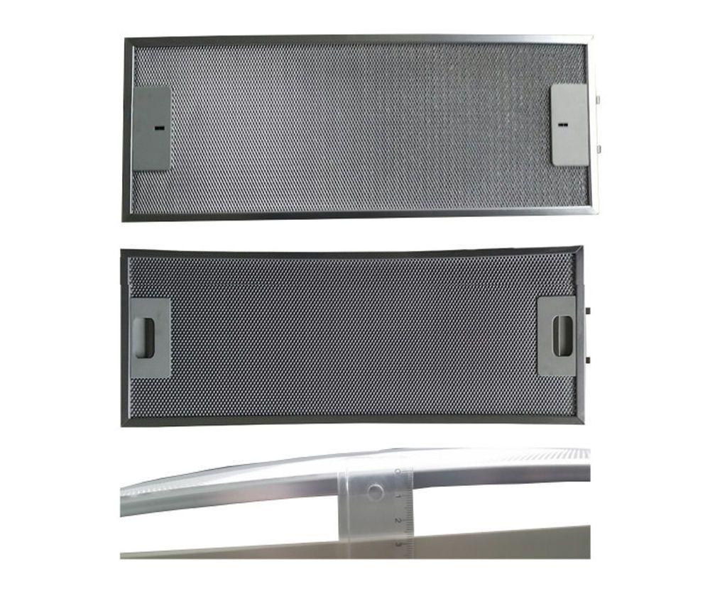 Metallfettfilter für dunstabzug whirlpool aluminium mm