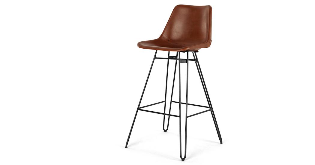 Kendal Barstool Tan And Black Bar Stools Bar Stool Chairs Black Stool