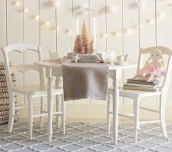 Kids Playroom Table And Chairs tea party sets, girls' tea sets & play tea sets | pottery barn