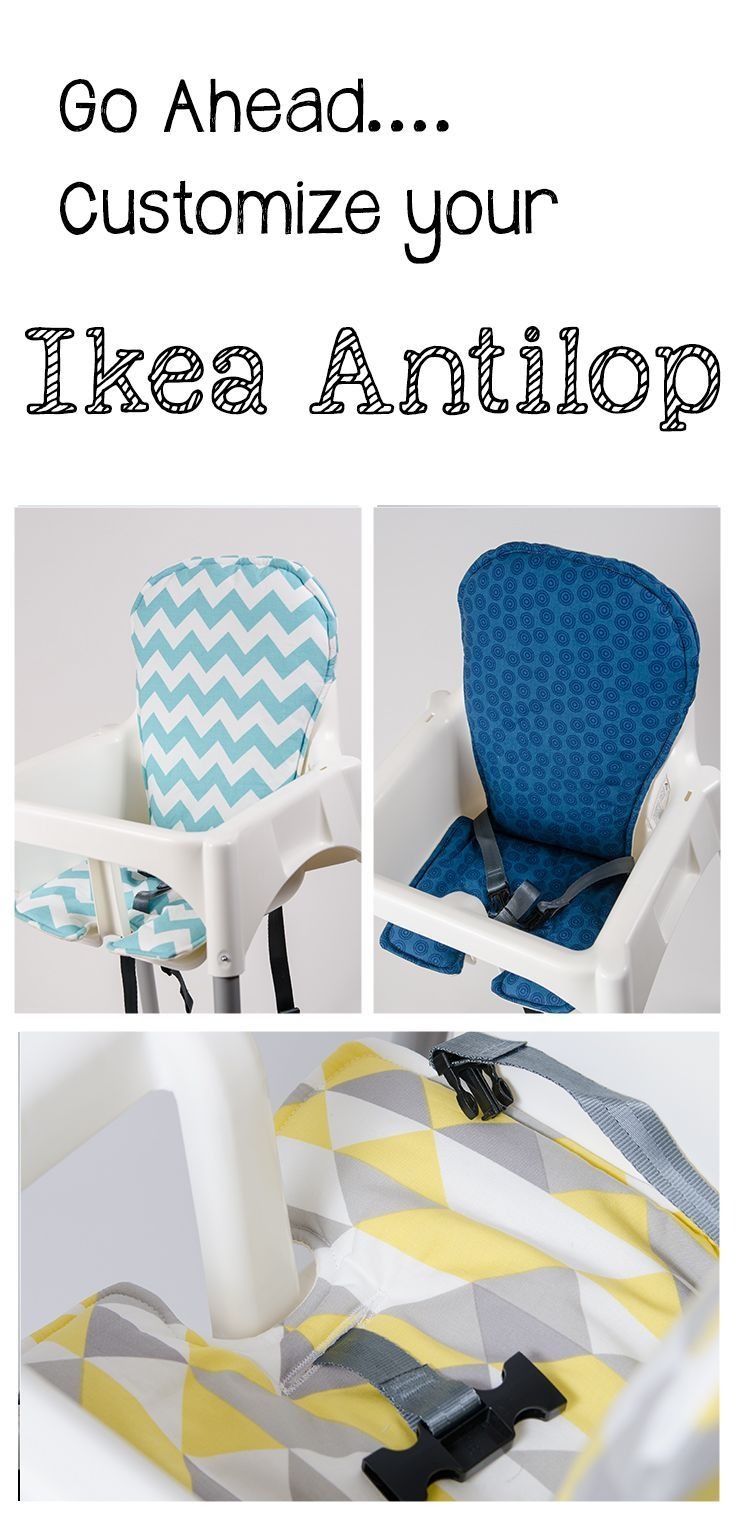 Handmade And Stylish Replacement High Chair Covers For Your Ikea Antilop.  Www.sewplicity.