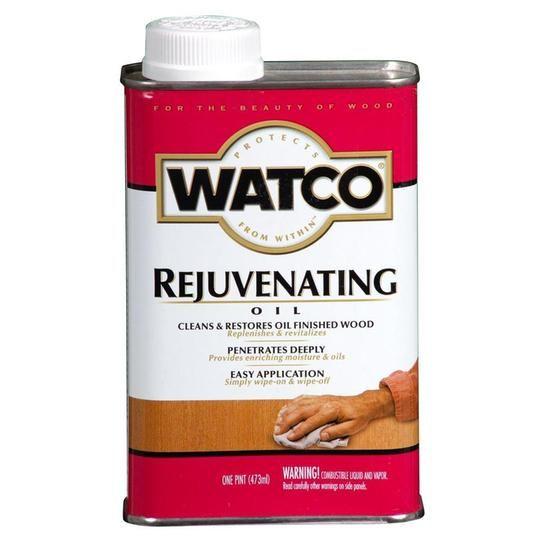 Watco 1 Pt Rejuvenating Oil 4 Pack 66051h The Home Depot Watco Staining Wood Teak Oil