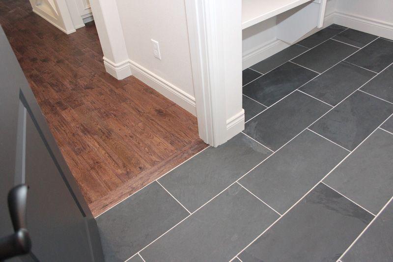 Love Both The Hardwood And Tile Floors Living Room Wood Floor