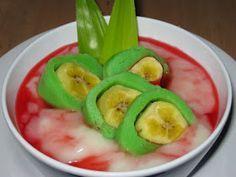 Resep Masakan Indonesia: Resep Es Pisang Ijo
