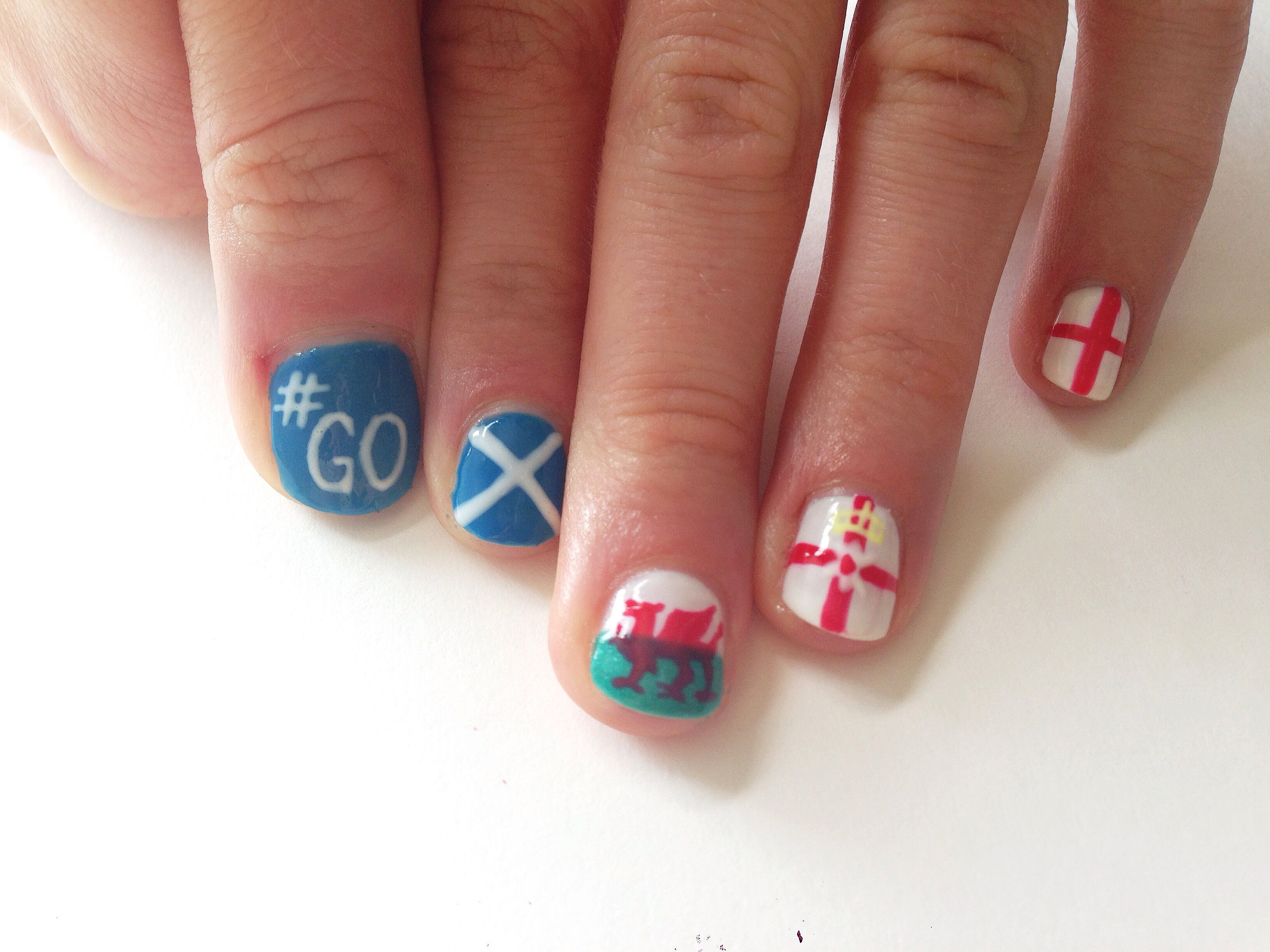 Commonwealth Games 2014 Nails | My Nail Art | Pinterest ...