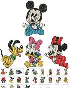 Baby Disney Free Embroidery