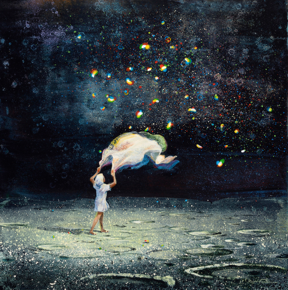 The Magical Realism of Eric Roux-Fontaine's Dreamlike Paintings | Colossal