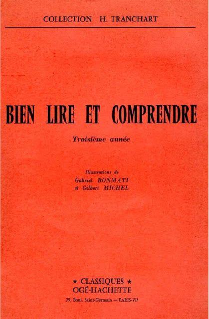 Tranchart Bien Lire Et Comprendre Troisieme Annee Language