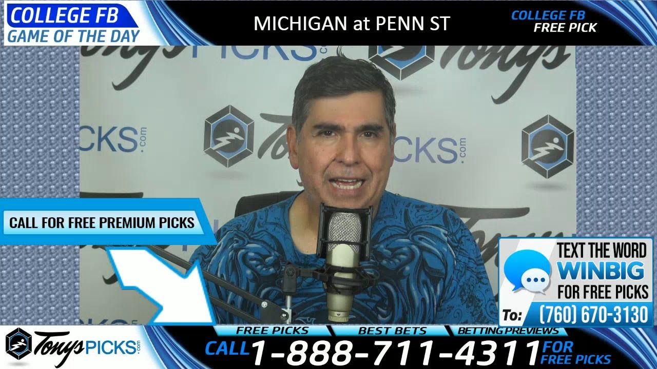 Michigan vs. Penn St Free NCAA Football Picks and