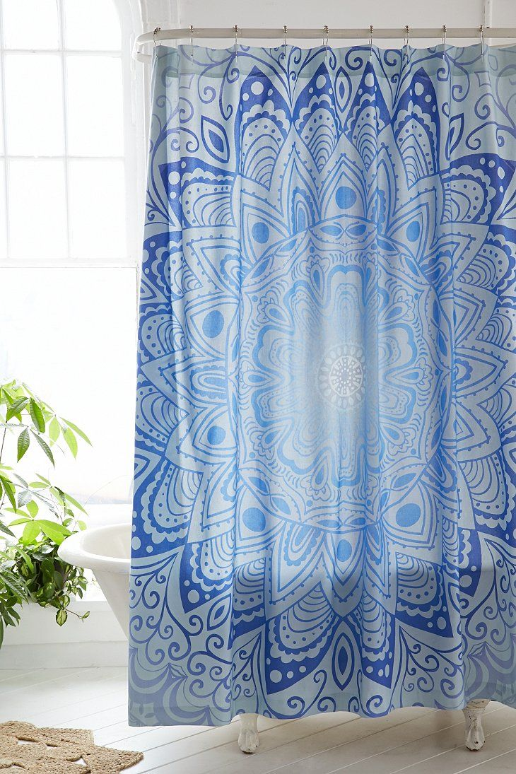 Magical Thinking Cosmic Medallion Shower Curtain Urban