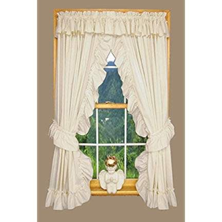 Product Details Ruffle Curtains Priscilla Curtains Rod Pocket