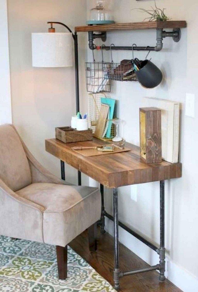 35 Incredible Diy Farmhouse Desk Decor Ideas On A Budget Industrial Living Room Design Industrial Farmhouse Living Room Farmhouse Style Furniture