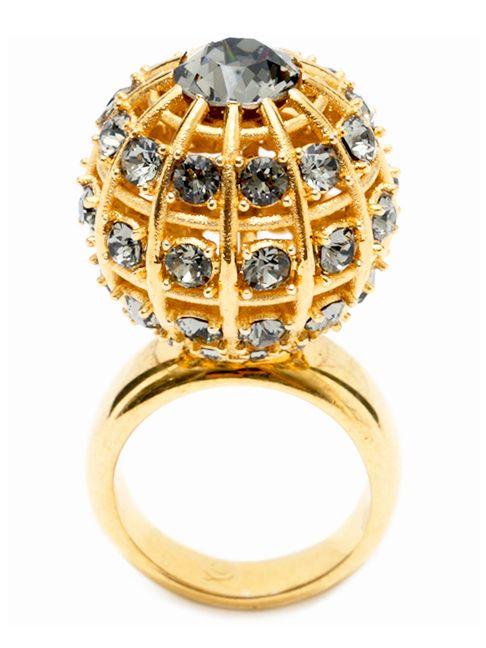 Statement Jewelry   Alexander McQueen   cynthia reccord Bagues Pour Femmes, Bijoux  Élégants, Bagues 9994a38b23d