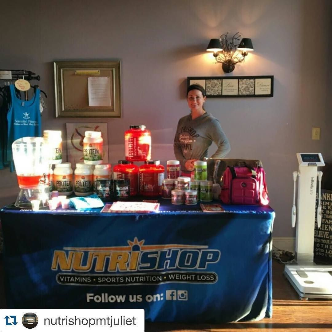 #Repost @nutrishopmtjuliet with @repostapp.  It's a beautiful morning out here at Serenite Fitness in Mt. Juliet!! Sponsored Athlete Kim Carter will be here till 11AM with FREE samples and goodies!! The InBody Composition Analysis will be at the studio too and will return to our shop around NOON!! @fitnurse40 #serenitefitness #promo #wefuelmtjuliet #wefuelhermitage #nutrishop #nutrishopusa #nutrishopmtjuliet #teamnutrishop #mtjuliet #mtjuliettn #lebanon #hermitage #nashville #tennessee…