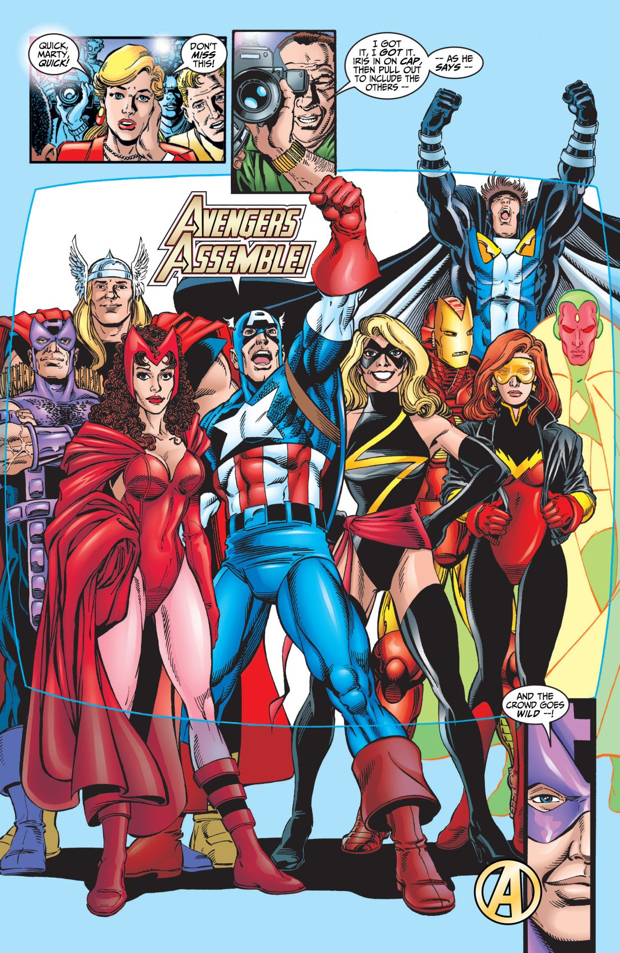 Avengers by 1998