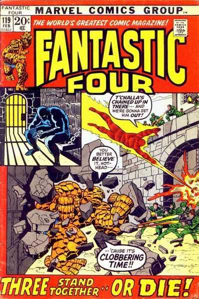 Fantastic Four # 119 by John Buscema & Joe Sinnott