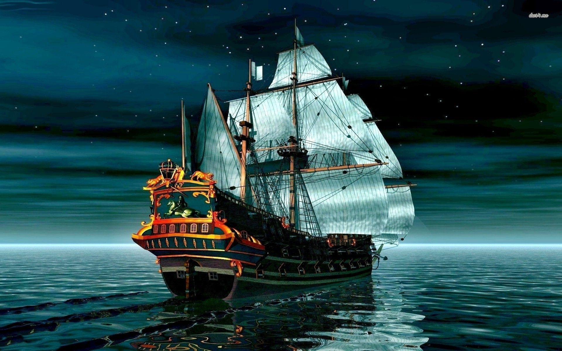 bateau wallpaper