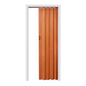 Spectrum Oakmont Pecan Hollow Core 1 Panel Accordion Interior Door Co Accordion Doors Folding Closet Doors Vinyl Doors