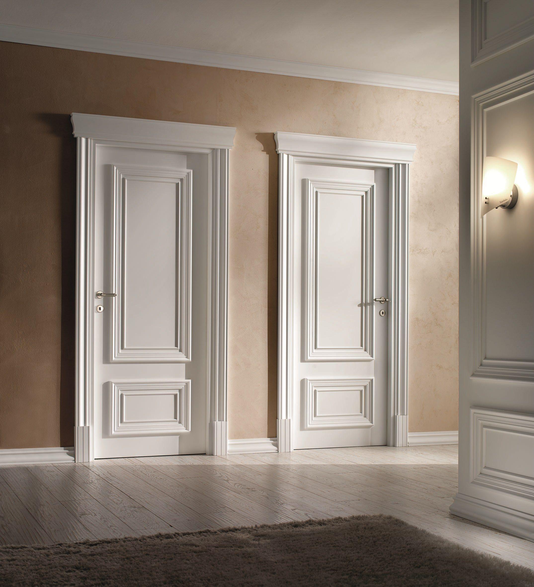 Verniciare Porte Interne Bianche porte interne in stile neoclassico (con immagini) | porte