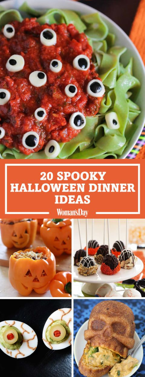 25+ Spooky Halloween Dinner Ideas Spooky halloween, Dinner ideas - spooky food ideas for halloween
