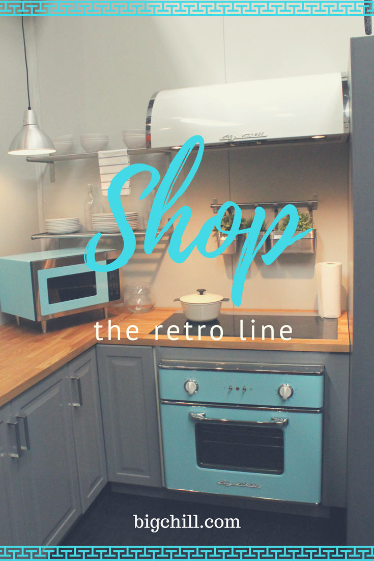 Big Chill retro appliances - over 200 colors to choose from. Inspired by beach blue? Click to see more!