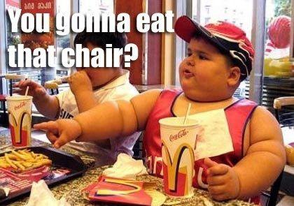 I love McDonald's.