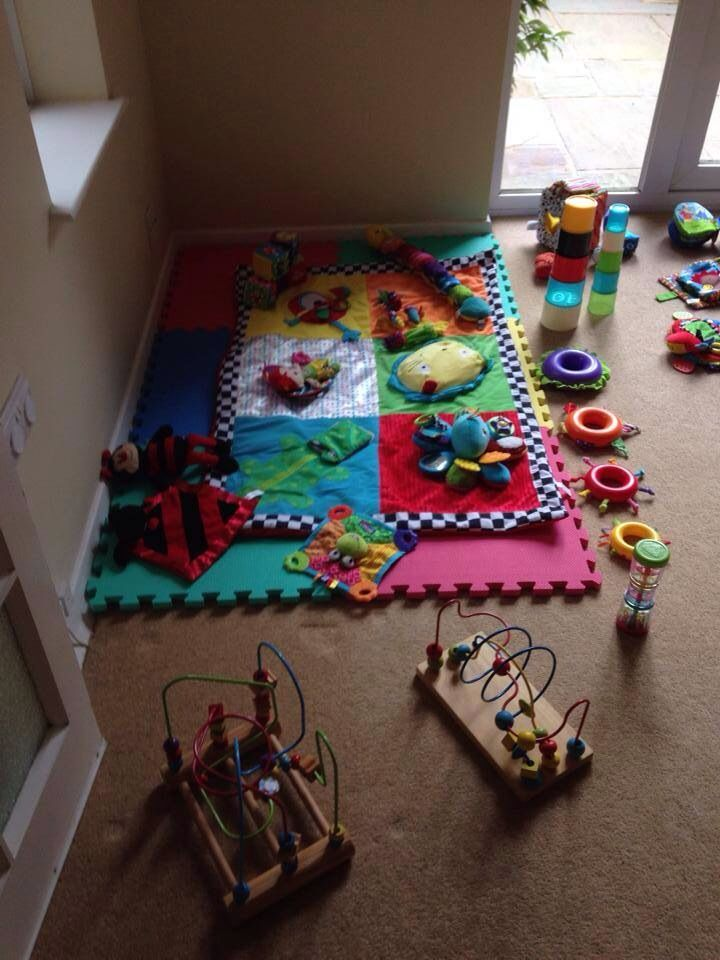 Indoor 1st birthday at home baby area soft play kids