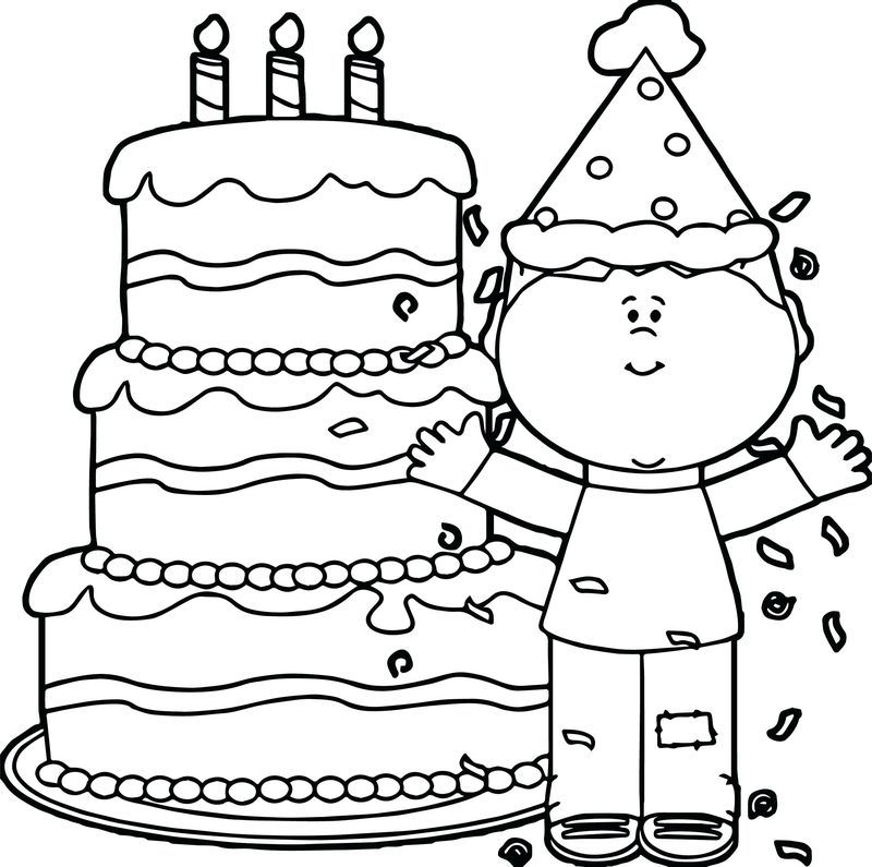 happy birthday coloring pages pdf printable. Usually