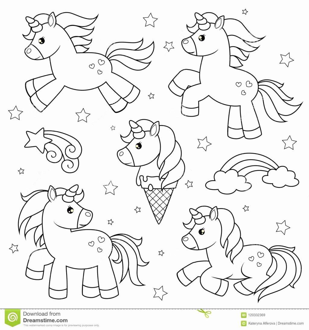 Unicorn Coloring Set Portraits