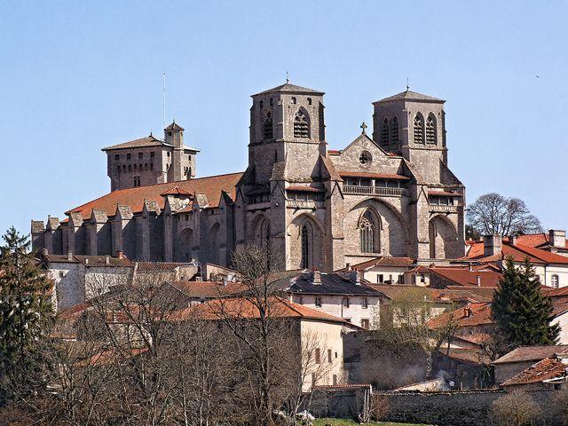Abbaye De La Chaise Dieu Haute Loire Around The Worlds France Clermont
