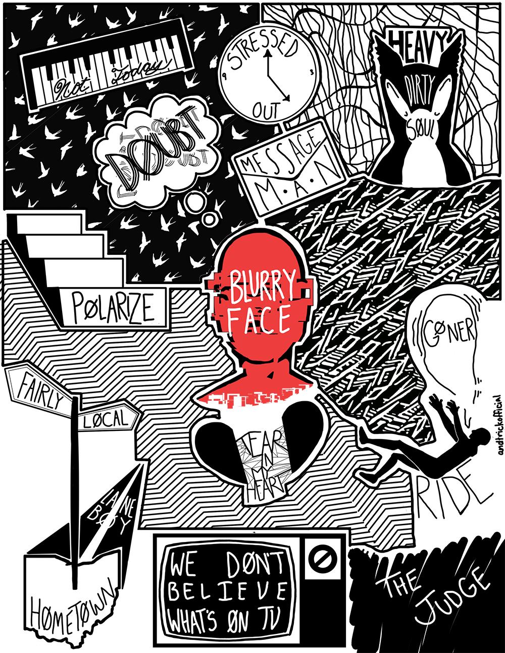 Kitchen Sink Twenty One Pilots Album twenty one pilots | blurryface | tunes | pinterest | pilot, album