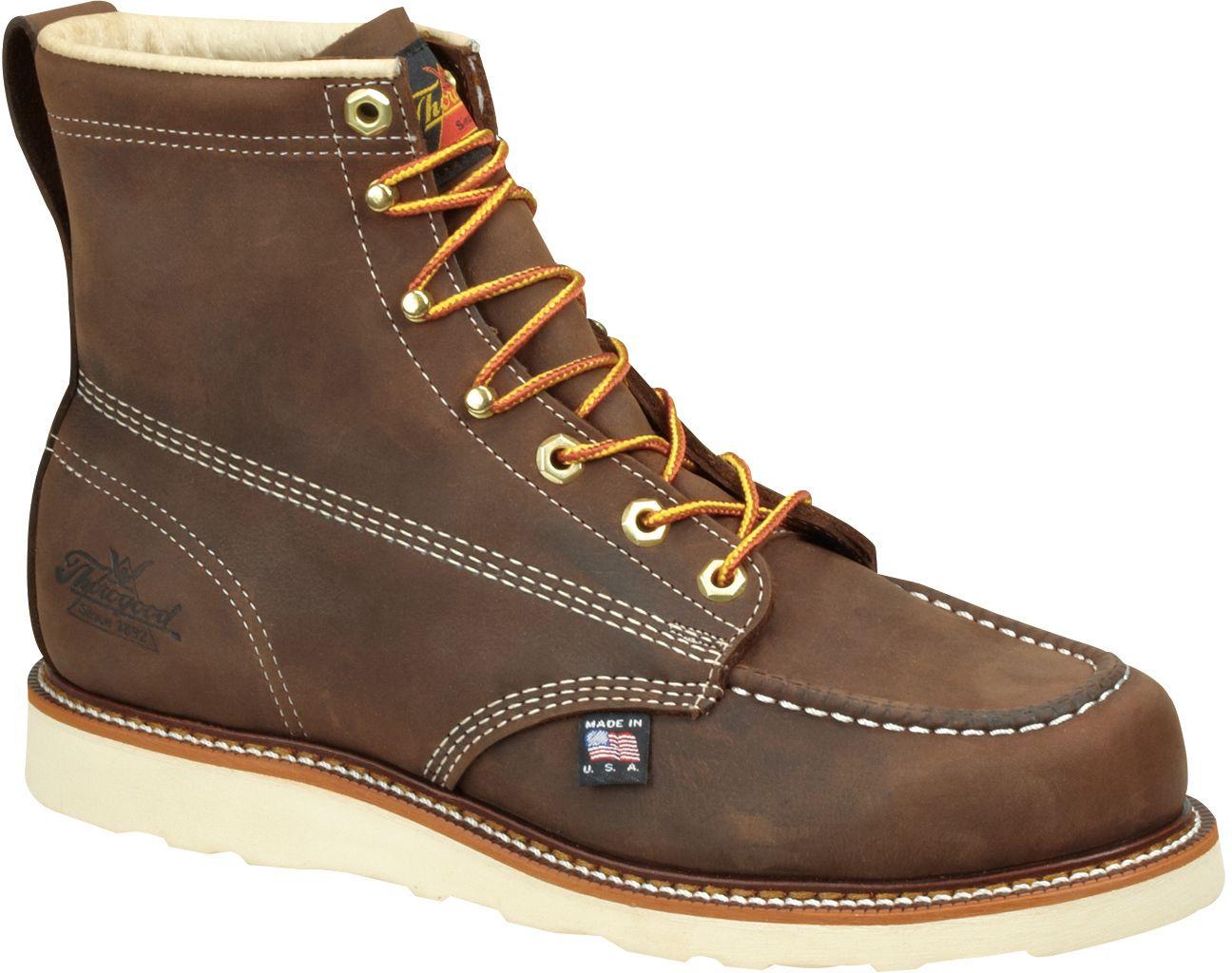 8144203 Thorogood Men's SR Work Boots Brown Good work