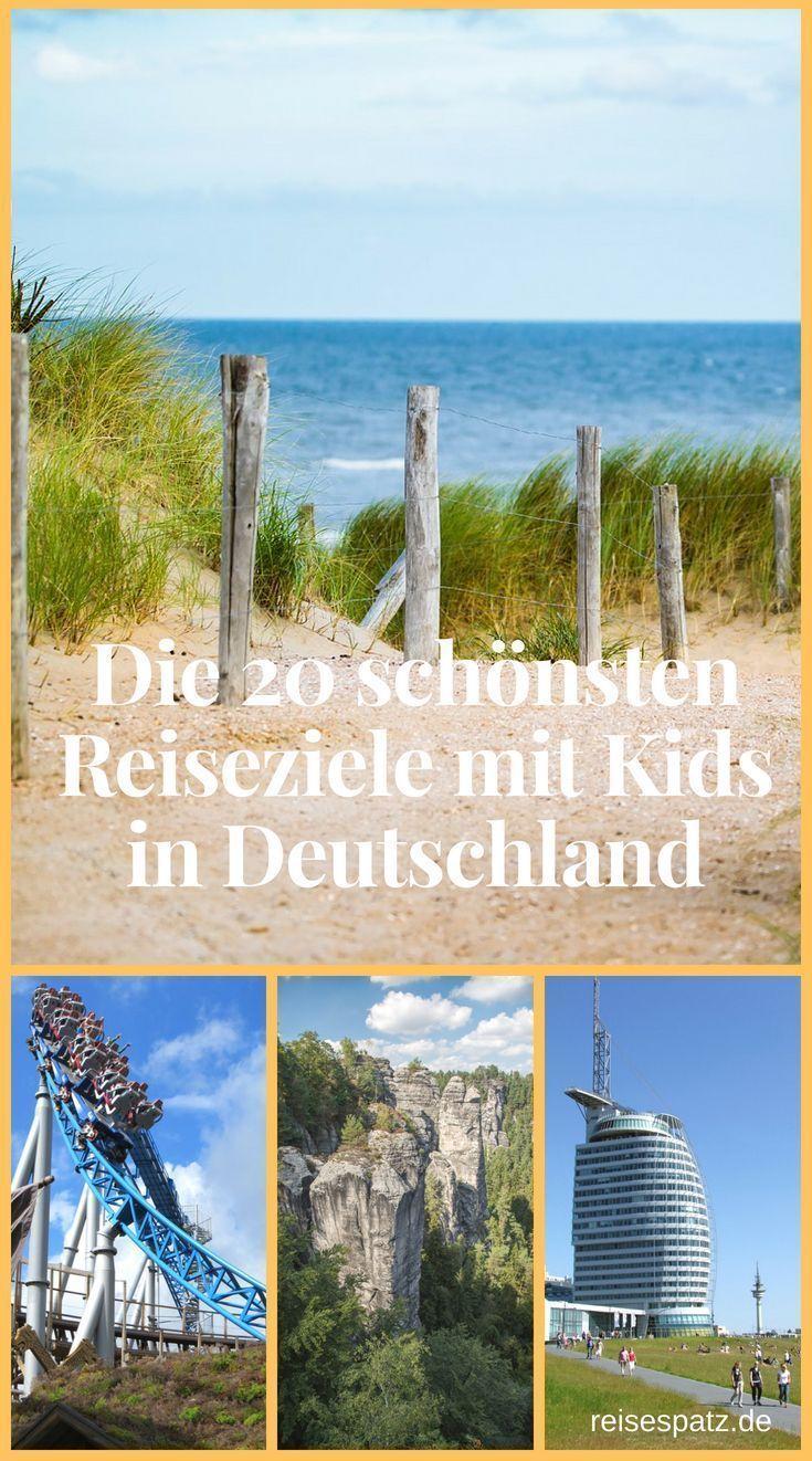 Die 20 Schonsten Reiseziele In Deutschland Fur Familien Reiseziele Ferien Deutschland Reisen