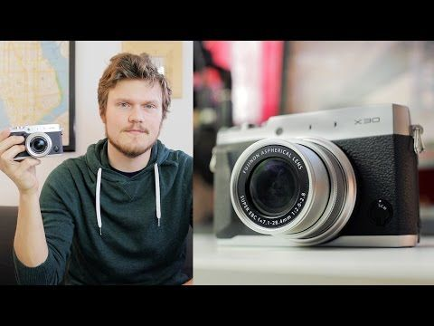 Our first camera review - Fujifilm X30 (Retro Style Point and Shoot) - YouTube