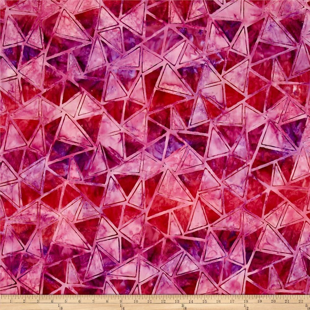 Kaufman Artisan Batiks Graphic Elements Diamonds Punch