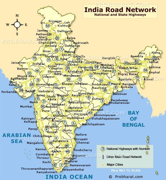 Indian Road Map map of india with cities   Google Search | MAPS | Map, India map