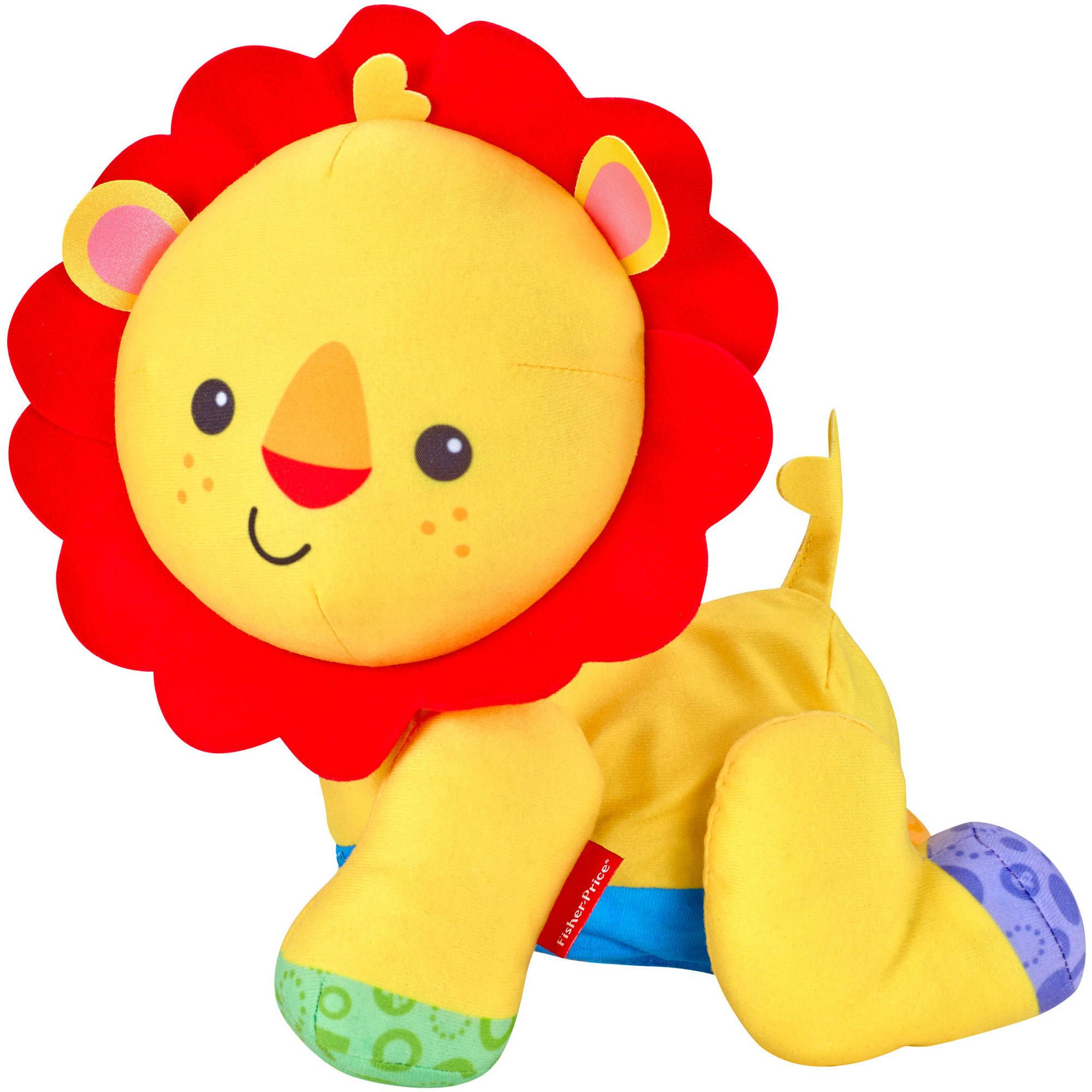 Fisher Price Touch N Crawl Lion Walmart Com Baby Boys Toys