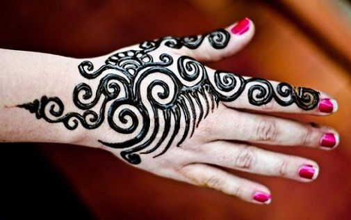 simple and easy mehndi designs for beginners with images back hand also that are to try in rh pinterest