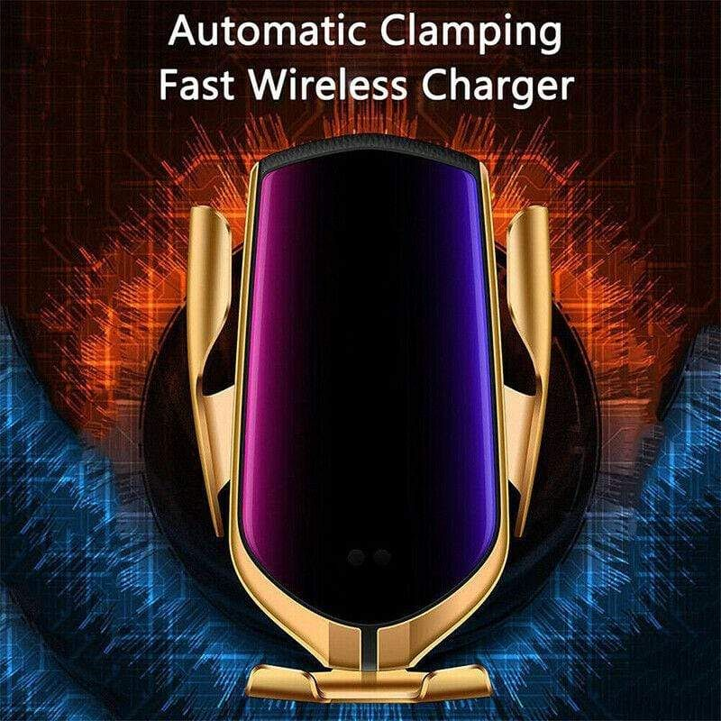 Wireless Charger Car Mount Automatic Clamping 10W 7.5W