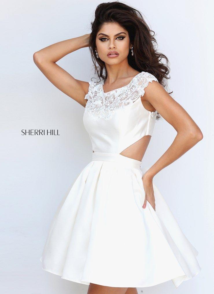 Shop Sherri Hill Dress 50682 for your Homecoming Fall 2016