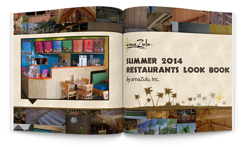 Spruce up your restaurants decor with some natural and sustainable materials. A quick upgrade can really bring in the business! Check out our Restaurants Look Book!