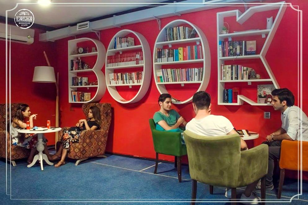 Reading Has Never Been So Exciting Book Cafes In Baku Book Cafe Cafe Books