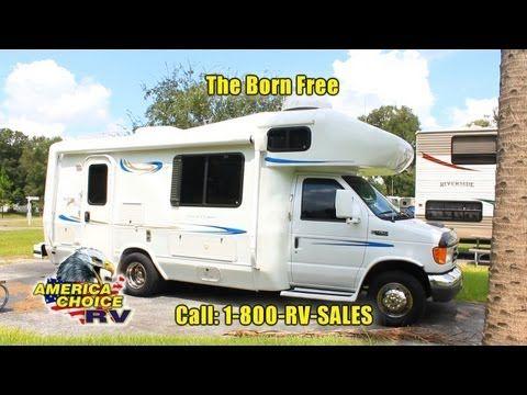 Awesome 24' 2001 Born Free Class B Ford E-450 Triton V10