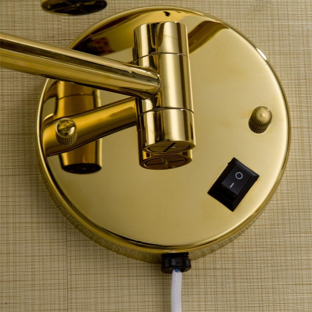 QREZ Europeanstyle goldplated wallmounted folding with a