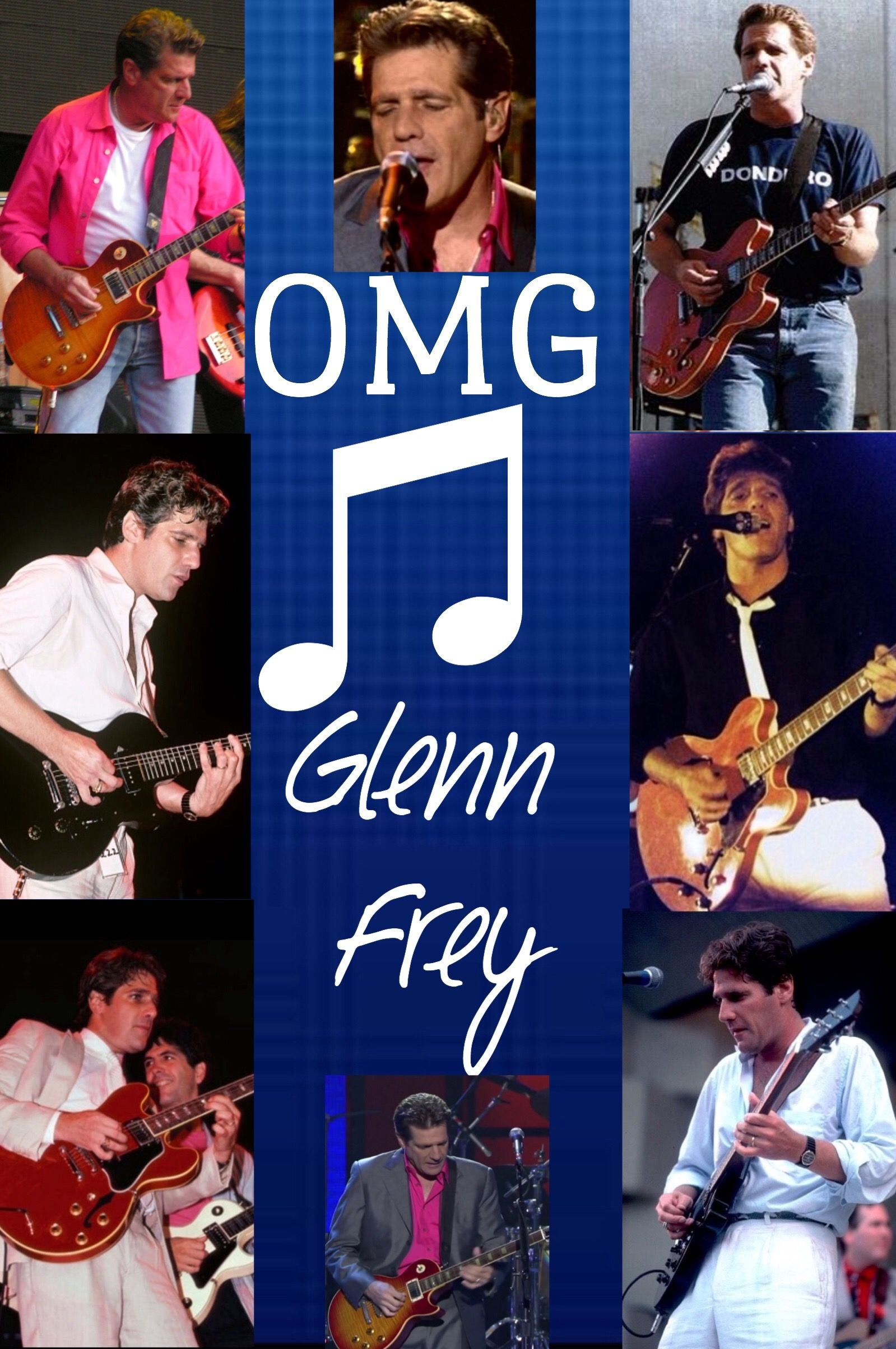 Oh My Goodness.(OMG) Glenn Frey