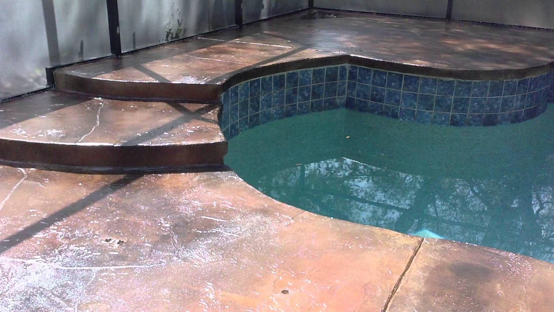 Pool Deck Coating Resurfacing Paint
